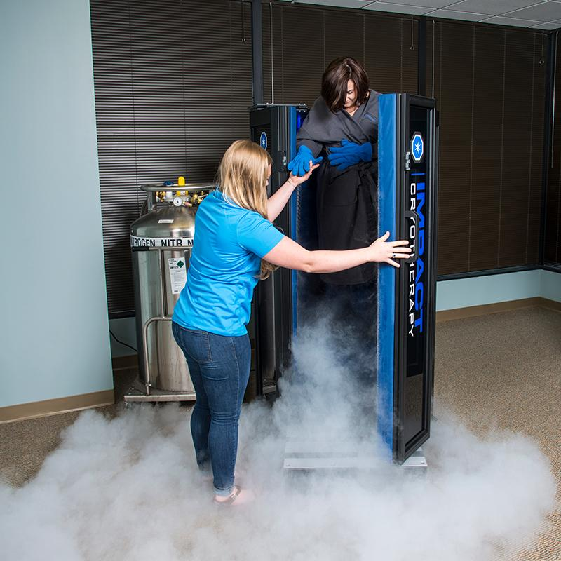 Cryotherapy at Health Cellutions